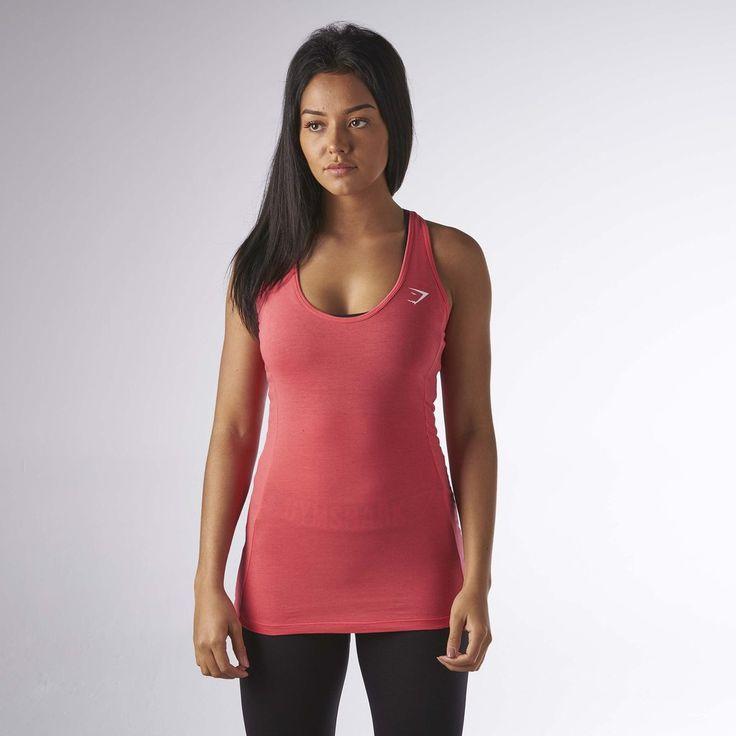 Gymshark Tempo Vest II - Sherbet Pink at Gymshark UK | Be a visionary.