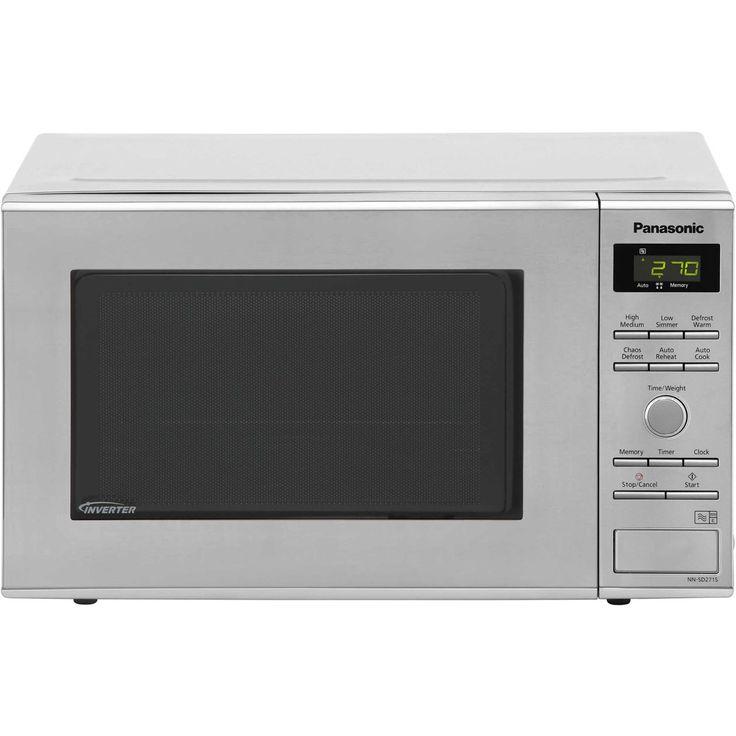 Panasonic Inverter Microwave | NN-SD271SBPQ | ao.com