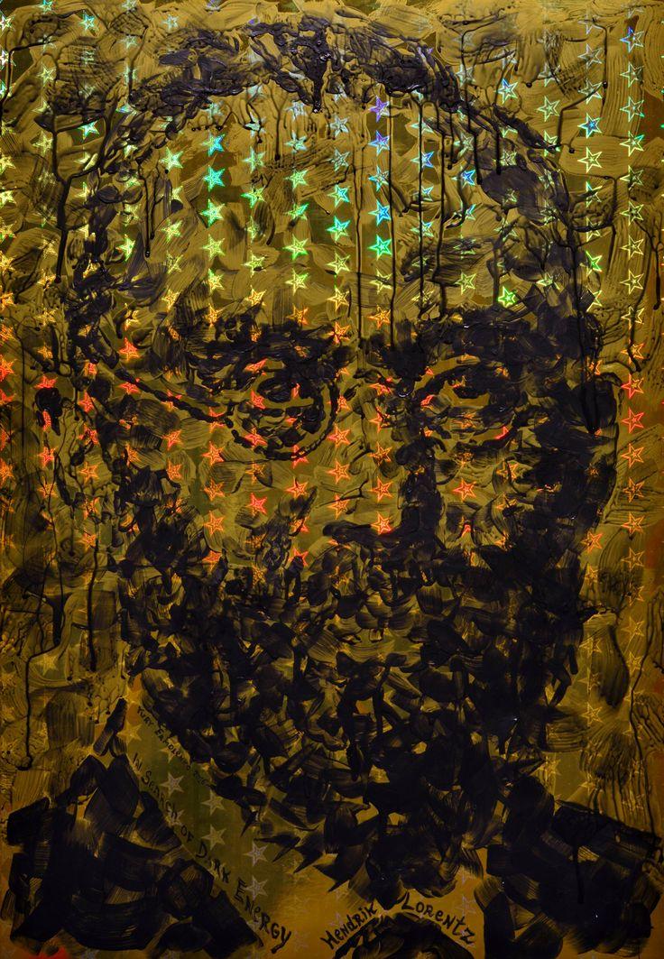 "Юрий Ермоленко, ""Хендрик Антон Лоренц II"", (проект ""В ПОИСКАХ ТЕМНОЙ ЭНЕРГИИ""), 2016, бумага, акрил, 70х50 см.  #HendrikLorentz #физика #квантоваяфизика #наука #quantumphysics #physics #physicist #science #StandardModel #ElementaryParticles #SubatomicParticles #portrait #highenergyphysics #DarkEnergy #particlezoo #fermilab #YuryErmolenko #еrmolenko #ЮрийЕрмоленко #ермоленко #ЮрiйЄрмоленко #єрмоленко #rapanstudio #modernart #contemporaryart #painting #современноеискусство #FacevinylGallery"