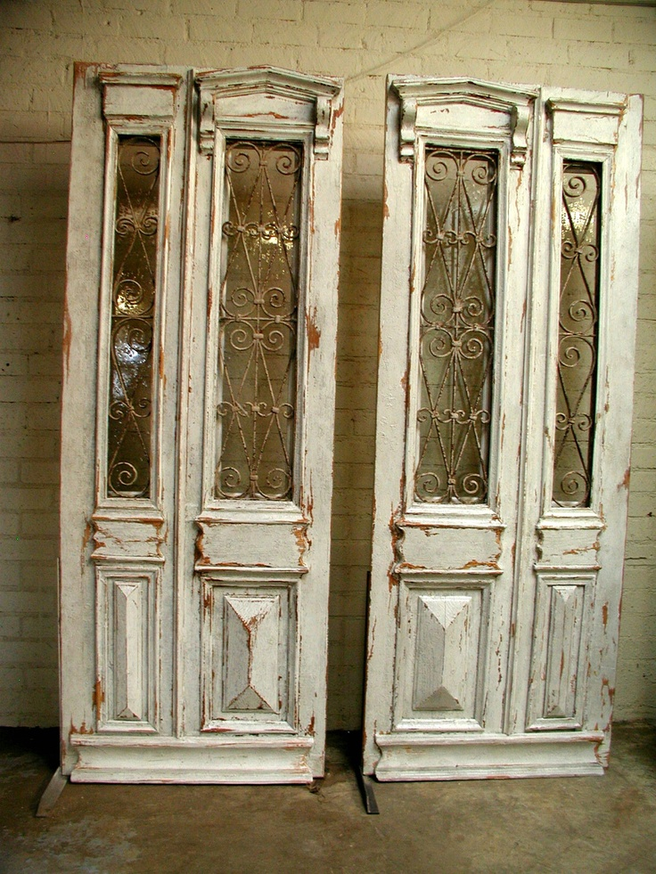French Pedestals and Dreams: Antique Doors Repurposed - 30 Best Antique Doors Images On Pinterest Old Doors, Antique Doors