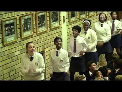 FLASH MOB Assembly Port Alfred High School South Africa #Africa #FlashMob #Flash #Mob