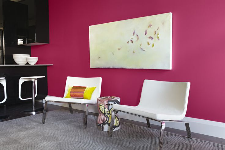 100 best Pink interiors images on Pinterest | Living room, Bedroom ...