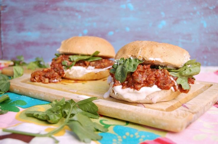 A Simple Blueprint to Eat Less Meat, Dairy and Processed Foods   Vegan Tempeh Sloppy Joes