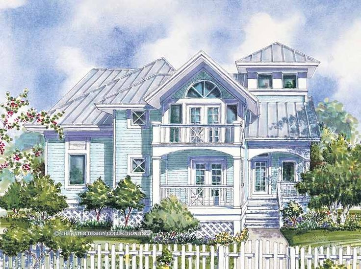 Eplans Low Country House Plan Private 1876 Square Feet