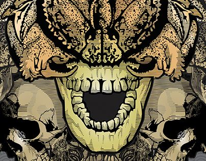 """Check out new work on my @Behance portfolio: """"Mutate Or Die"""" http://be.net/gallery/61983643/Mutate-Or-Die"""