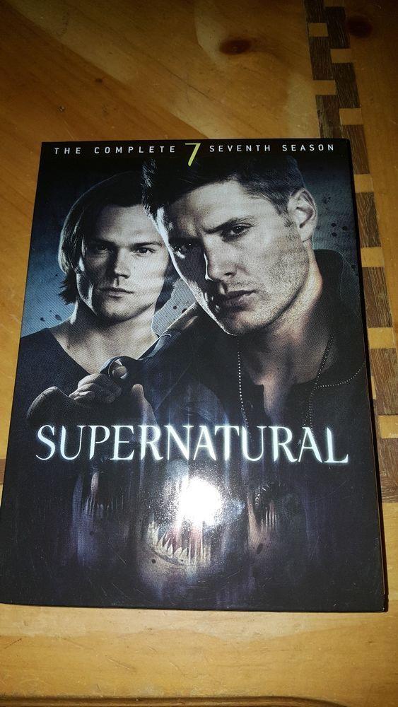 Supernatural Season 7 DVD Set Super Natural Jason Ackles and Jared Padalecki