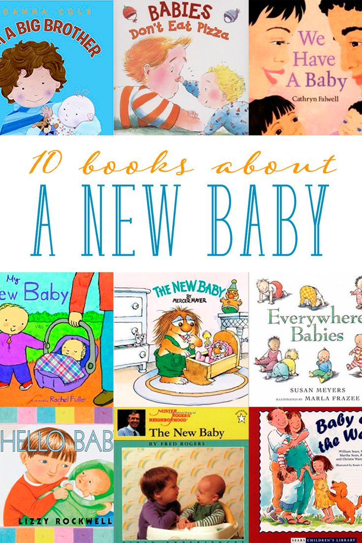 Looking for children's books about a new sibling your child will have? One of the best ways to help transition your older children to a new baby is through books. Below are 10 recommended children's books about a new baby.
