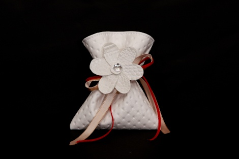 Faux leather Daisy pouch. £4.00