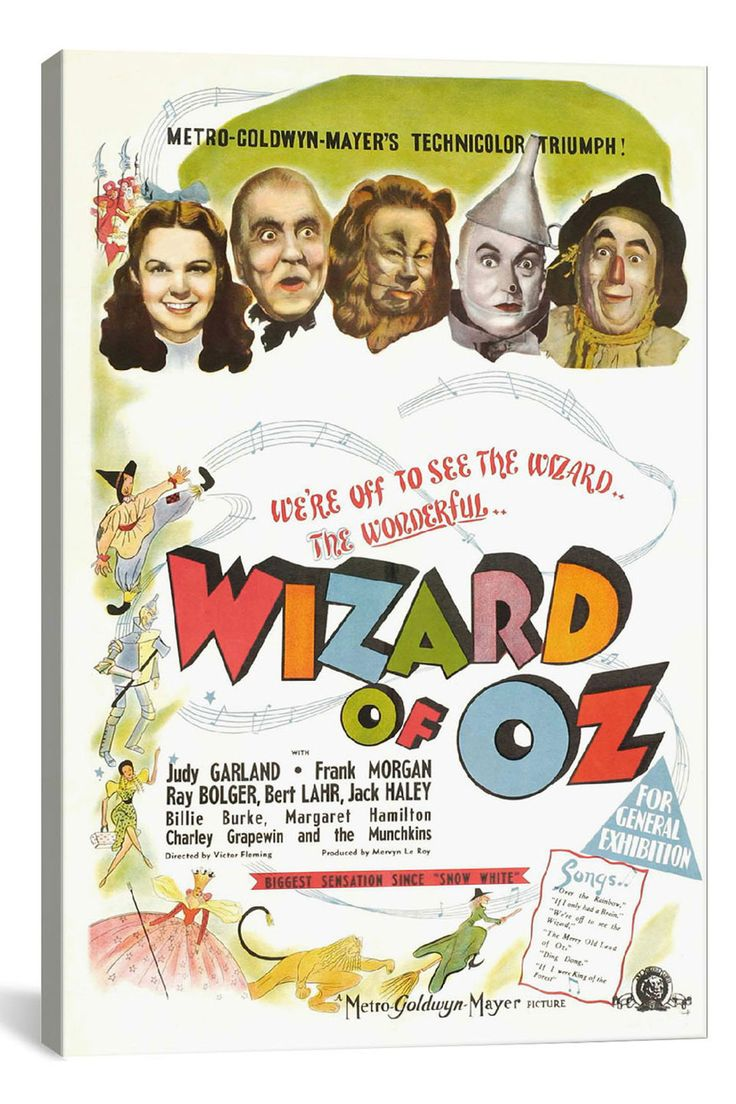Vintage Wizard Of Oz Poster 80