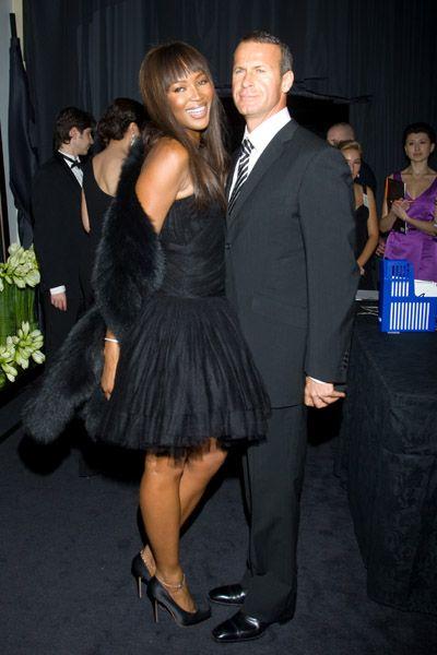 The glamorous Naomi Campbell & her Russian billionaire boyfriend #love #wmbw #bwwm
