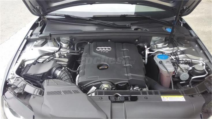 AUDI A4 1.8 TFSI 160cv multitronic Gasolina GRIS ARTICO del 2011 con 59900km en La Rioja