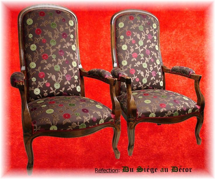 26 best images about r novation fauteuils on pinterest. Black Bedroom Furniture Sets. Home Design Ideas