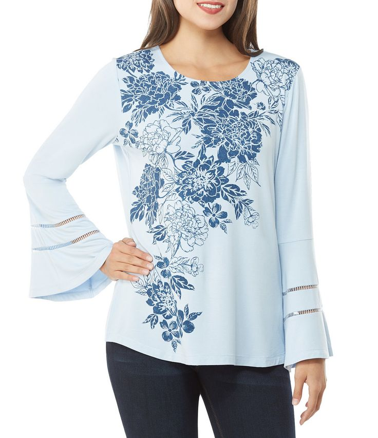Shop for Peter Nygard Bell Sleeve Floral Blouse at Dillards.com. Visit Dillards.com to find clothing, accessories, shoes, cosmetics & more. The Style of Your Life.