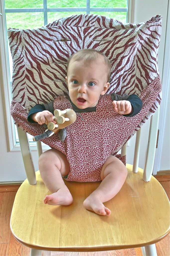 homemade portable high chair