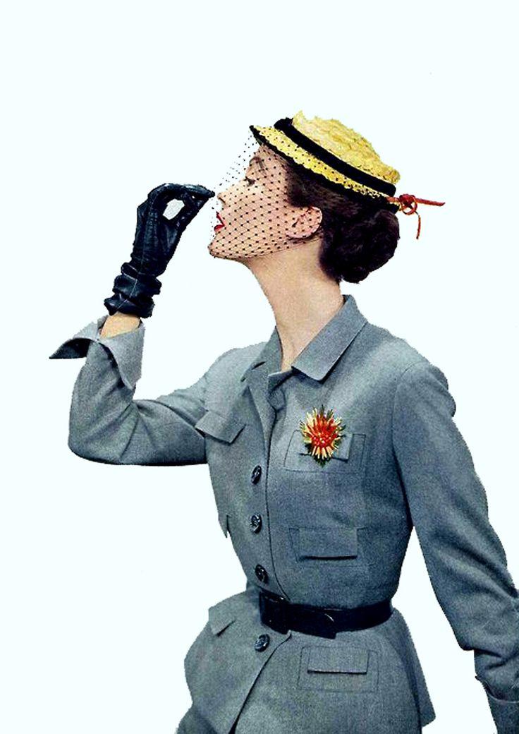 1950's fashon Vogue USA