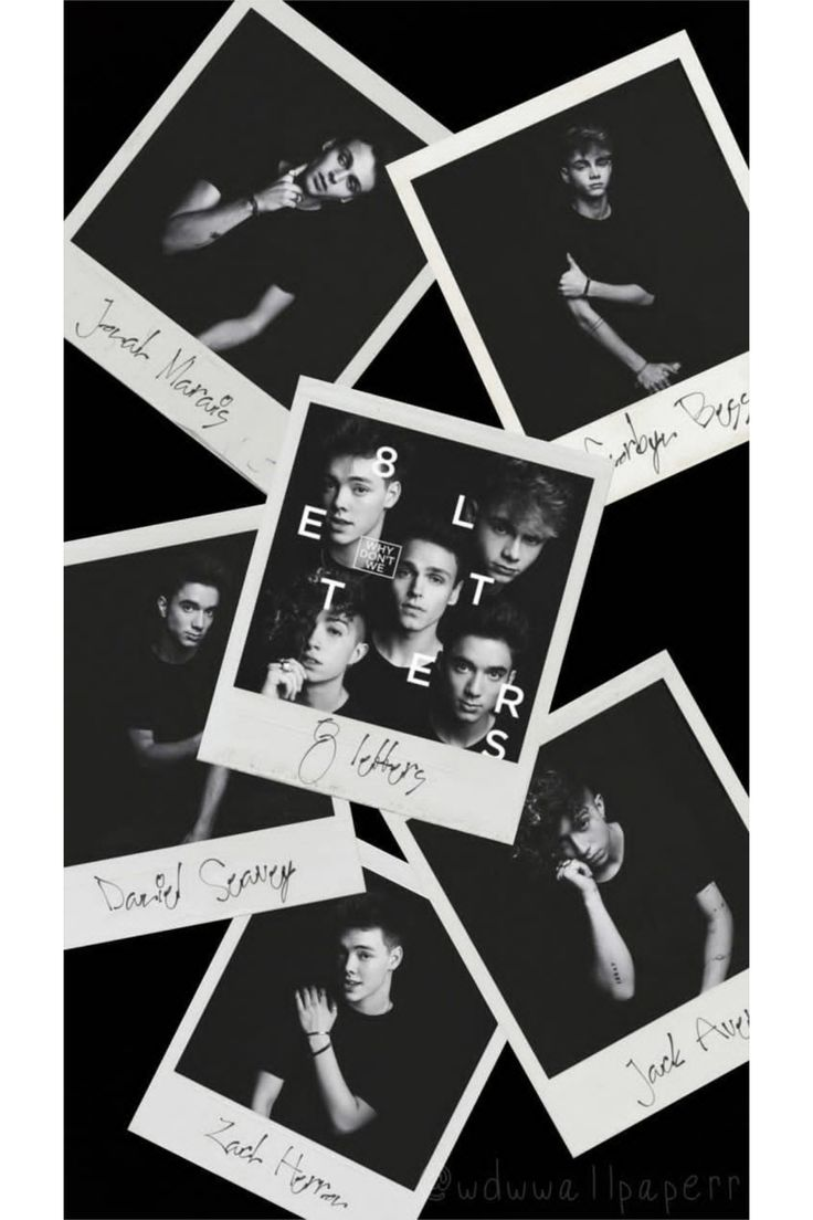 8 letters wallpaper Why don't we wallpaper (With images