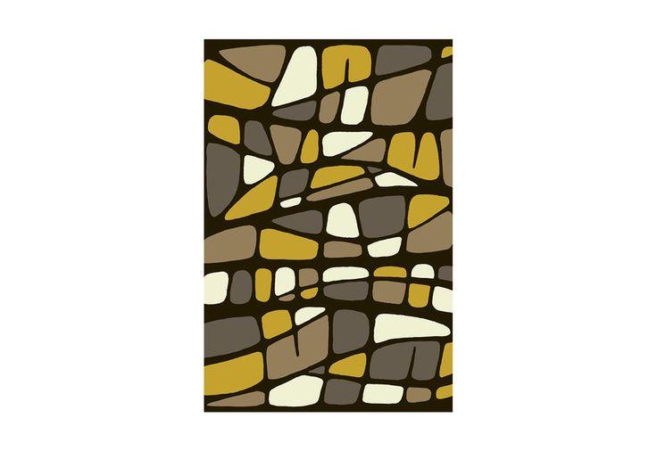 Stratum Geometric Abstract Hand-Tufted Wool Rug. Discover @Treniq - www.treniq.com