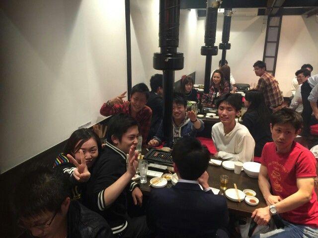会社の初宴会!
