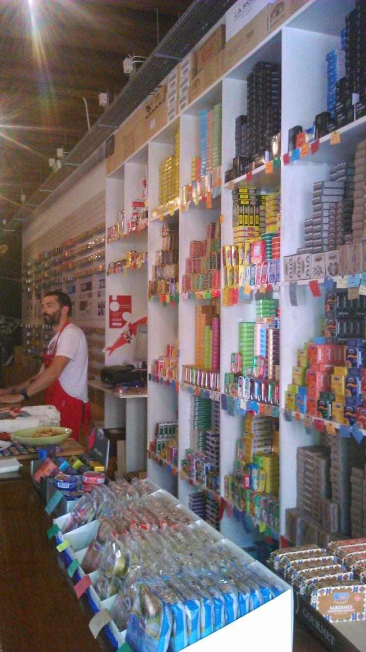 Loja das consrvas, Lisbon, Portugal
