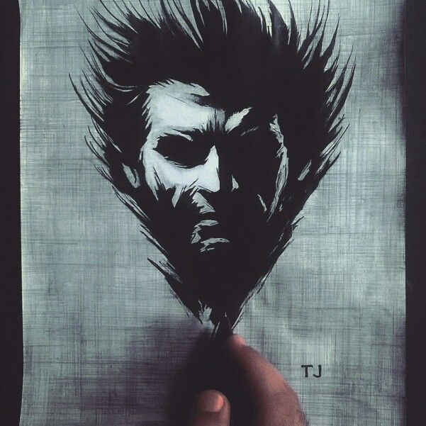 #Wolverine #logan #fanart #mywork #art #silhouette