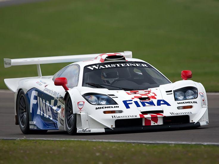 McLaren GTR race car - long tail