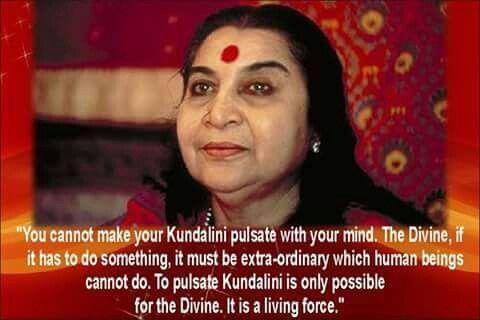Sahaja yoga ~ Awaken your kundalini... the sacred Energy sleeping within Us.. through Sahaja Meditation ...