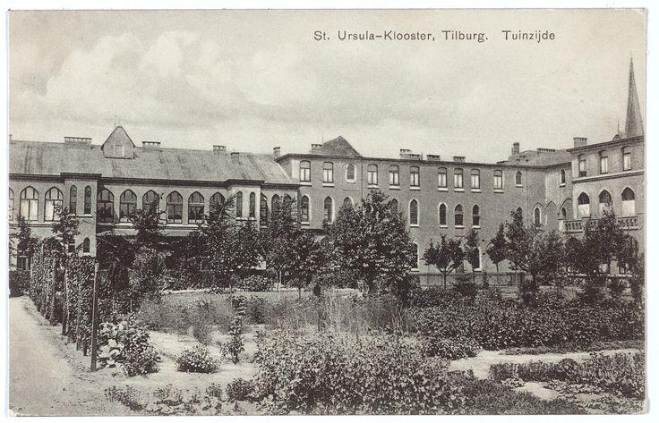 Ursulinen Klooster, Tilburg. Bron: Regionaal Archief Tilburg.