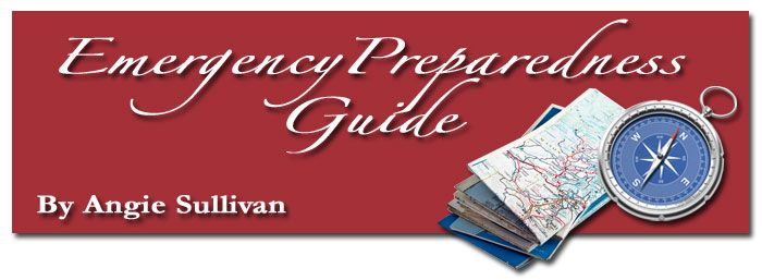 Emergency Preparedness Guide - lots of articles