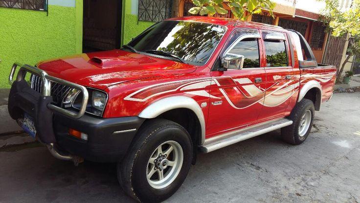 Vendo, Mitsubishi L200 Año 2003 - Carros en Venta San Salvador El Salvador