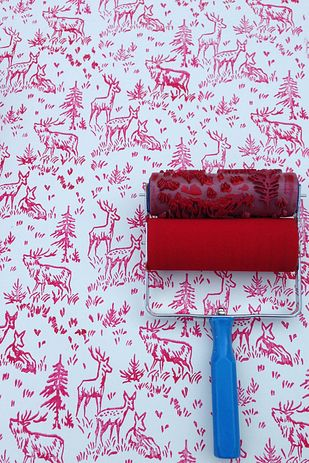 Patterned paint rollers                                                                                                                                                                                 More