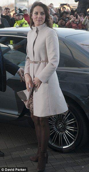 "Max Mara's ""Kate"" Coat***Middleton  Fashion Winter"