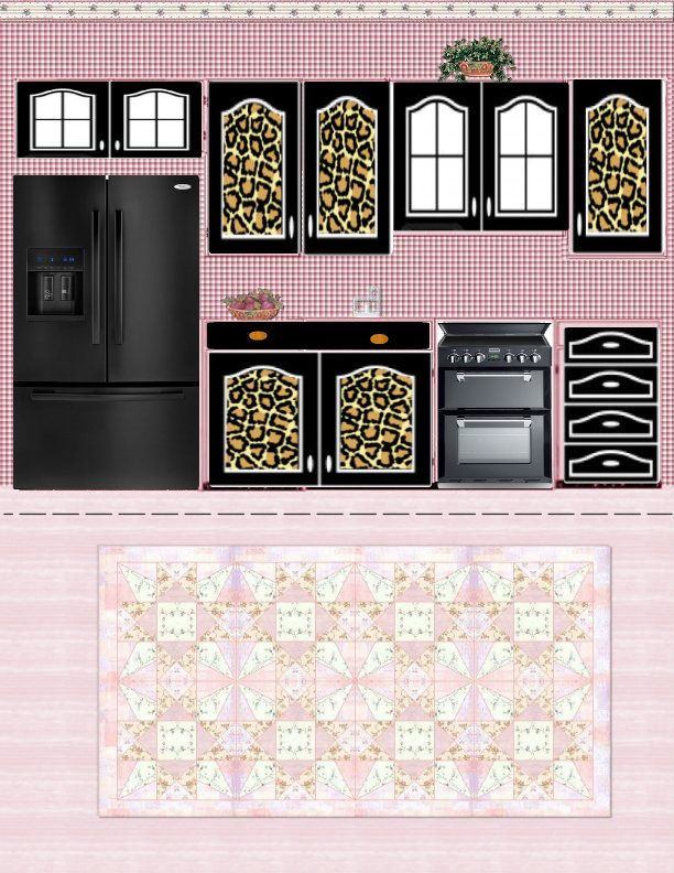 Clean image with free printable dollhouse furniture patterns