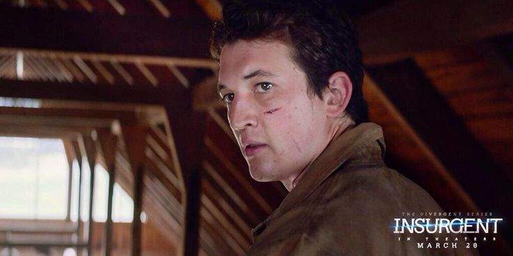 Still of Miles Teller as Peter in INSURGENT | I like Peter more than I like Caleb. Yeah.