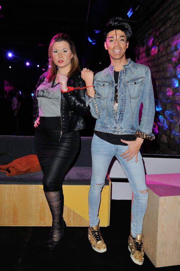 Cindy Lopes et Bruno Moneroe