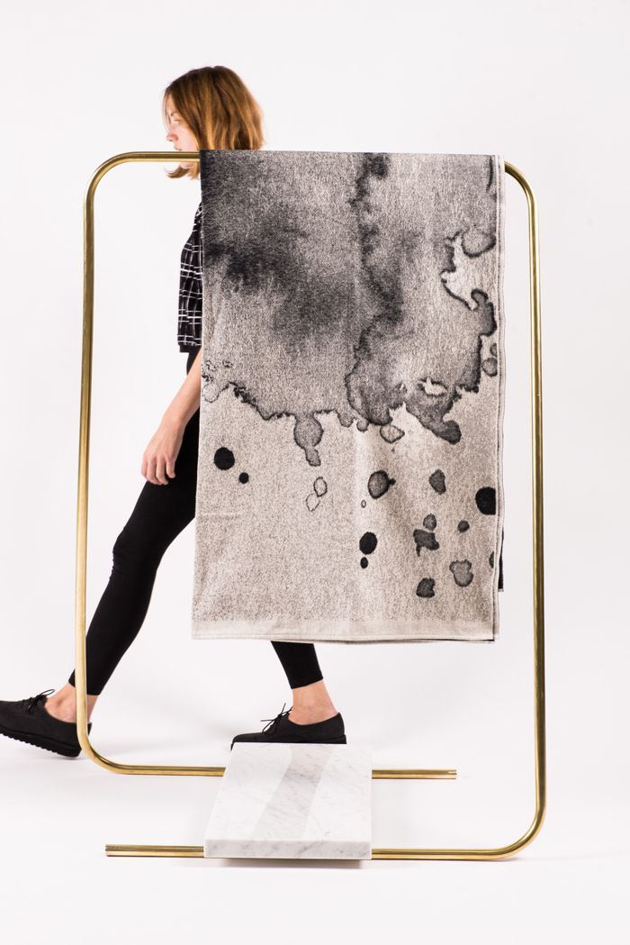 this would be amazing as a clothing rack.. but could also be majorly scaled down to display earrings. [schneid furniture]