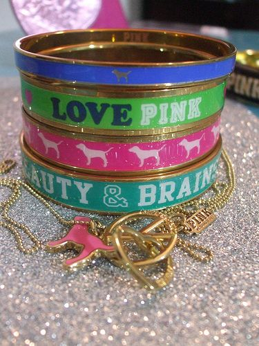 Victoria's Secret PINK bracelets