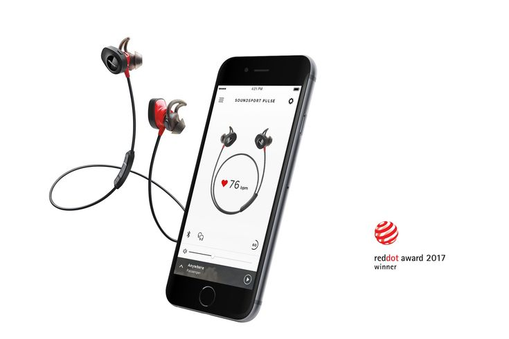 SoundSport Pulse Wireless Sport Headphones | Bose