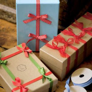 designs that inspire to create your perfect home: 12 More Creative Gift-wrap Ideas for Christmas