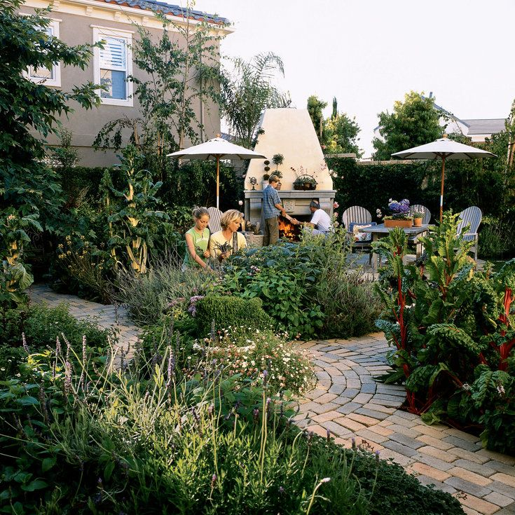 410 Best Potager - The Traditional Kitchen Garden Images On
