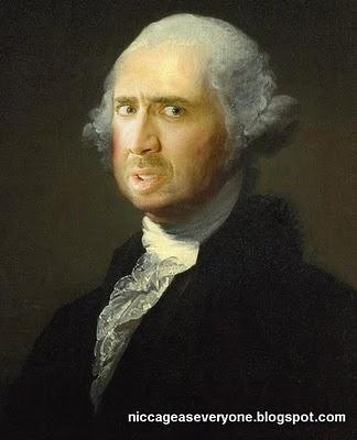 Nic Cage as George Washington