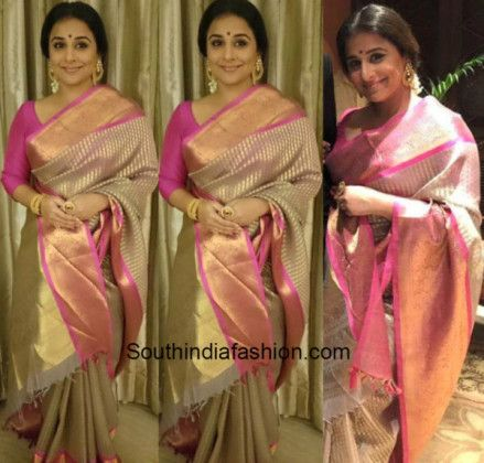 Vidya Balan in a Gaurang Shah saree photo