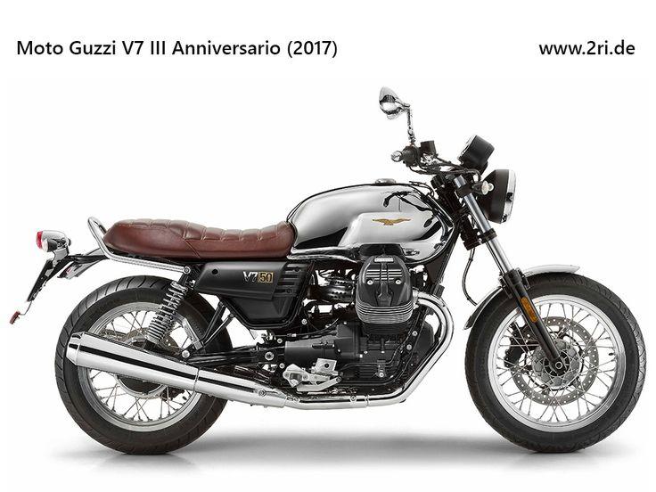 Moto Guzzi V7 III Anniversario (2017)