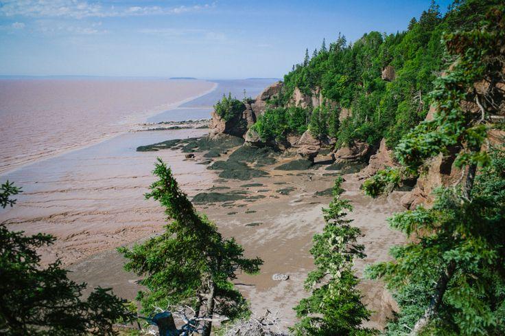 Baie de Fundy, road trip en Acadie, Nouveau Brunswick
