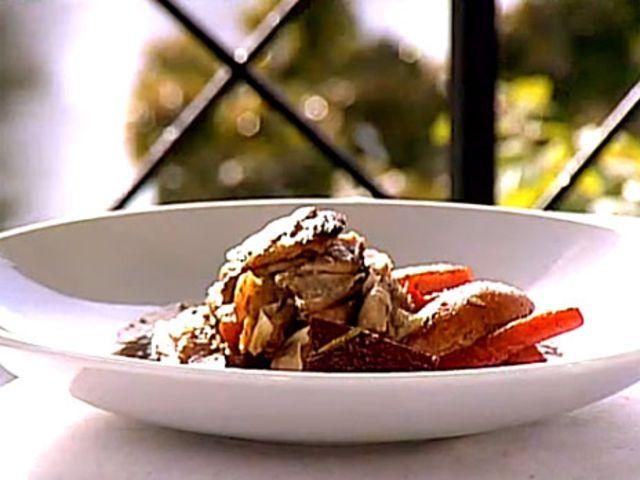 Lammbringa med rosmarin och rotsaker (kock Rickard Halleröd)