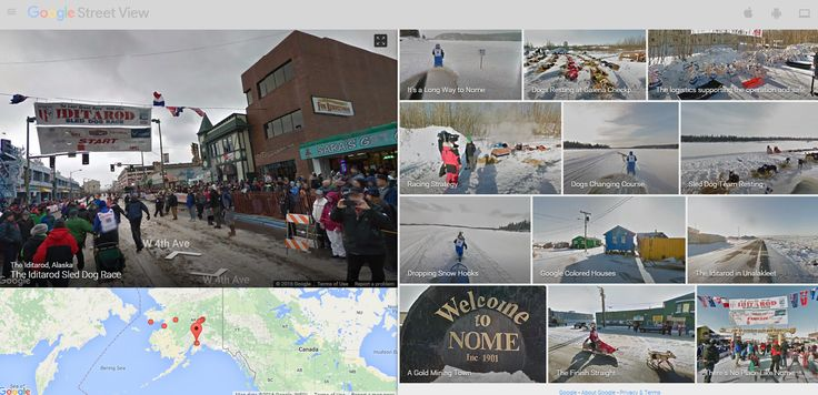 Free Technology for Teachers: Travel the Iditarod Race in Google Street View