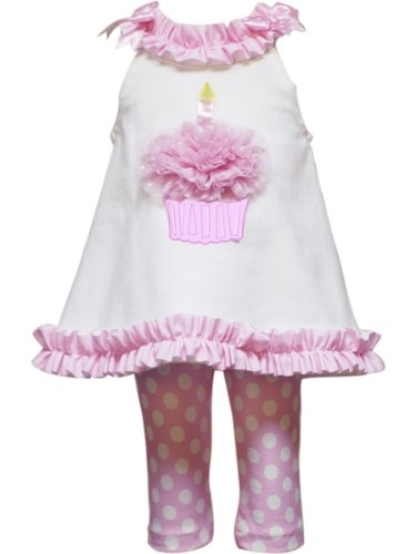 Baby girl bday outfit