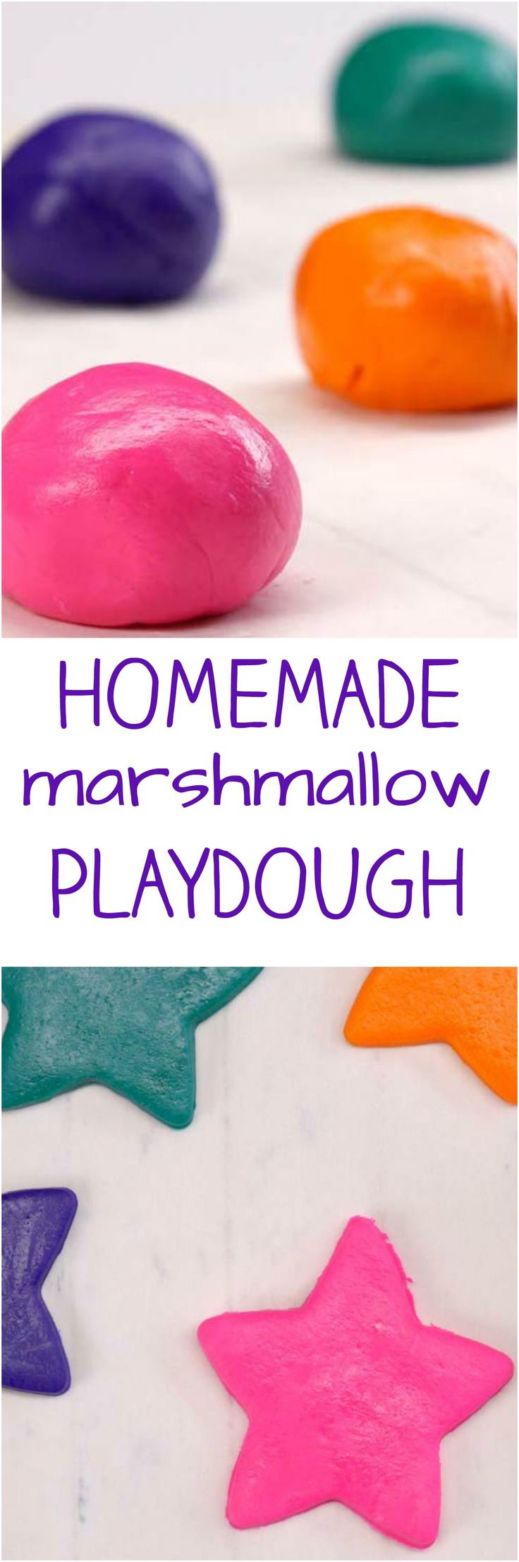 If this homemade marshmallow playdough ends up in your kid's mouth, relax--it's safe to eat! You and your little ones will love how fun and easy it is to make.