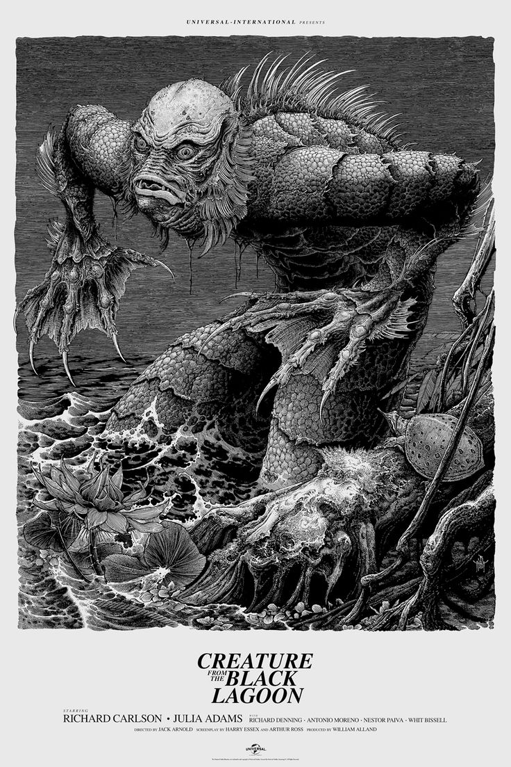More Stunning Poster Art For Mondo's Universal Monster Tribute Gallery