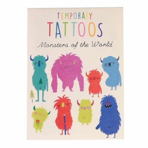 Tattoos Monstruos de Colores