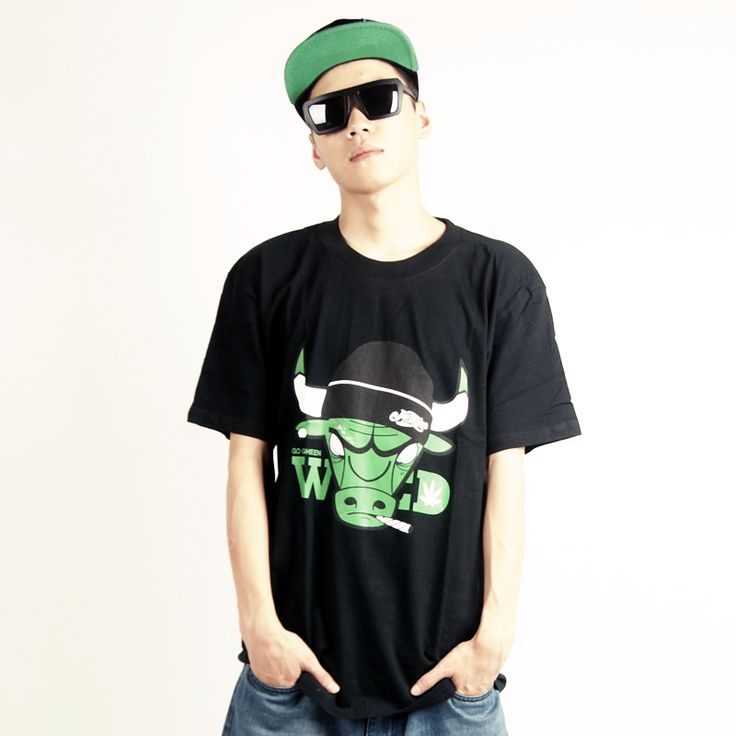 Street Style Men Rock Hip Hop Clothes Male Short Sleeve T